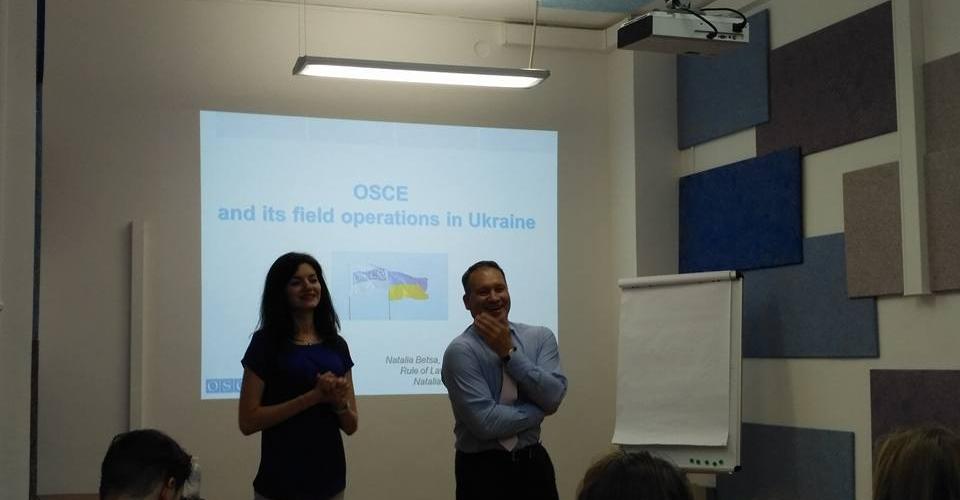 At OSCE